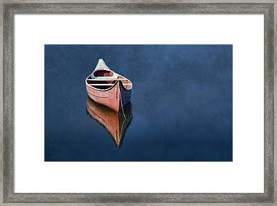 Well Anchored Framed Print