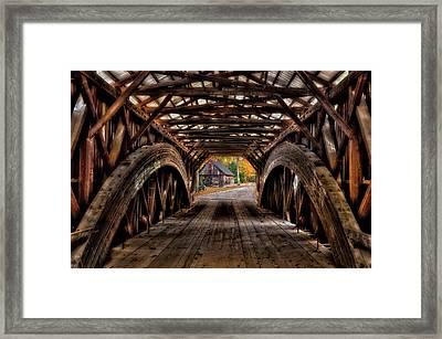 We'll Cross That Bridge Framed Print by Thomas Schoeller