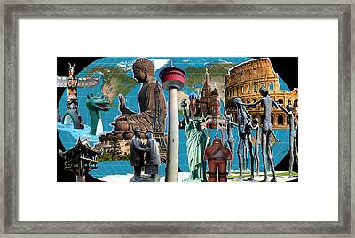 Well-knowns In My World Framed Print