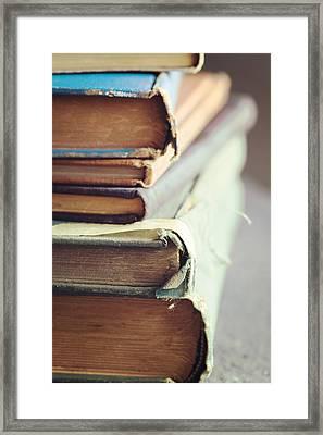 Well-loved Framed Print