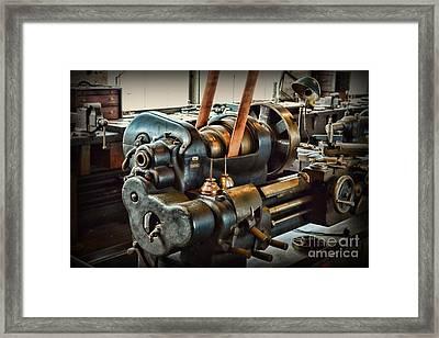 Well Oiled Machinery Framed Print