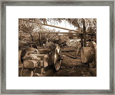 Well Pump Framed Print by Graham Taylor