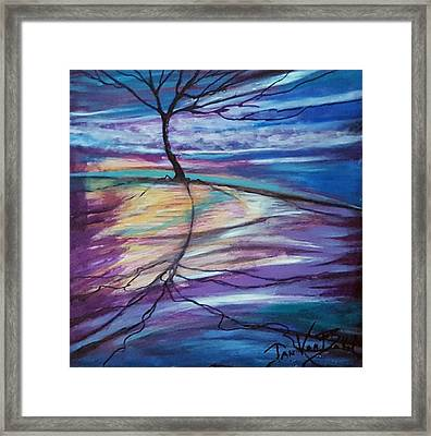Well Rooted Framed Print