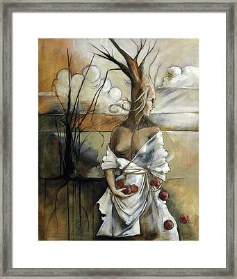 Well Suited Tree Woman Framed Print
