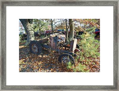 Well There's Your Problem Framed Print by Timothy Hedges