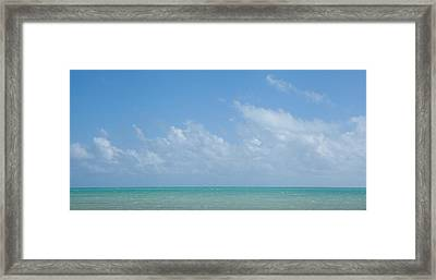 Framed Print featuring the photograph We'll Wait For Summer by Yvette Van Teeffelen