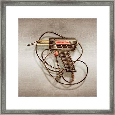 Weller Expert Soldering Gun Framed Print by YoPedro