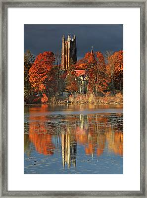 Wellesley College Galen Stone Tower Framed Print