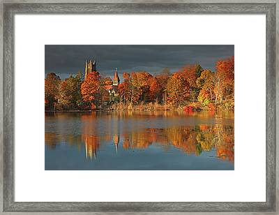 Wellesley College Framed Print
