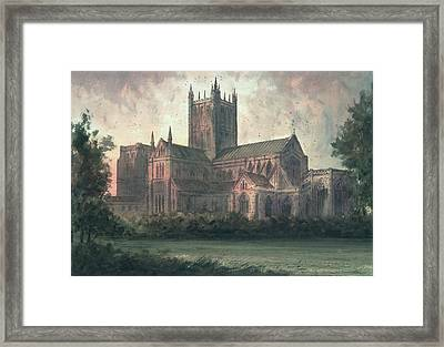 Wells Cathedral Framed Print by Paul Braddon