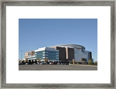 Wells Fargo Center Arena Philadelphia Pa Framed Print by Bill Cannon
