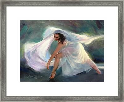 Wellspring Framed Print by Anna Rose Bain