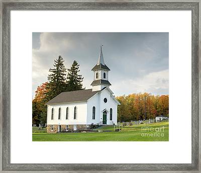 Welsh Church Framed Print