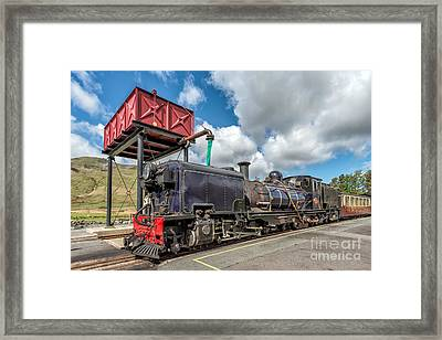 Welsh Highland Railway Framed Print by Adrian Evans