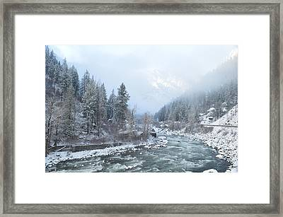 Wenatchee River Framed Print