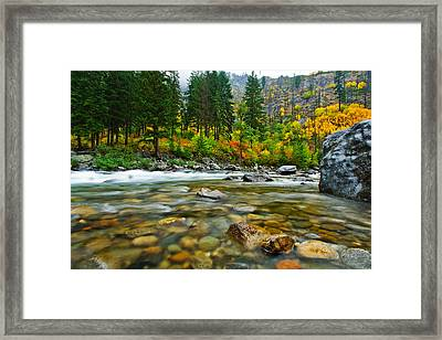 Wenatchee River Framed Print