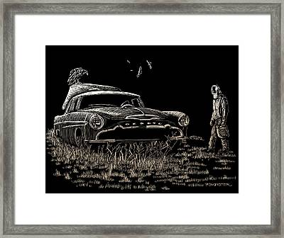 Went For Gas Framed Print