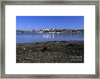 Wentworth By The Sea Hotel - New Castle New Hampshire Usa Framed Print by Erin Paul Donovan