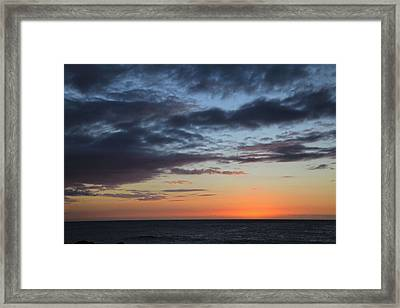We're All Alone Framed Print by Laurie Search
