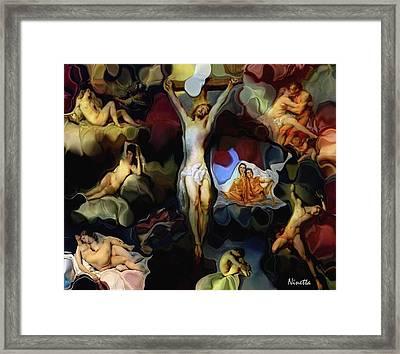 We're All God's  Children  Framed Print by Andrea N Hernandez