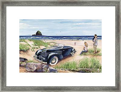 We're All In A Cord Framed Print by Mike Hill