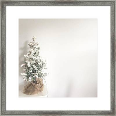 We're Back Just In Time For Christmas Framed Print