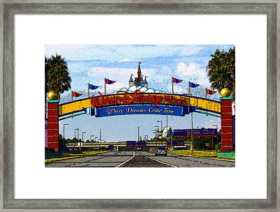 Were Dreams Come True Framed Print by David Lee Thompson