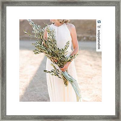 We're Inspired By This Beautiful Framed Print