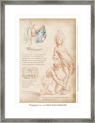 Werejaguars Framed Print