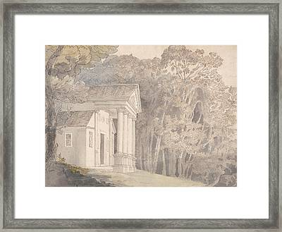 Werrington Park, Devonshire Framed Print by Francis Towne
