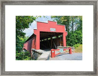 Wertz Covered Bridge Framed Print