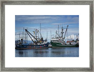 Wespak And Pender Isle Framed Print by Randy Hall