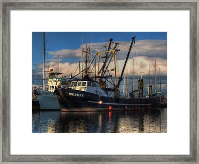 Wespak Framed Print by Randy Hall