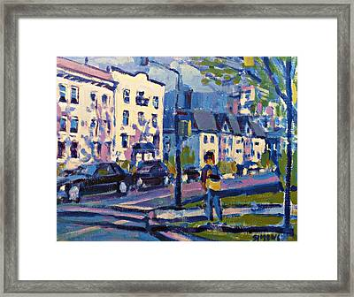 West 16th Framed Print by Brian Simons