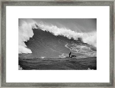 West Bombs. Framed Print