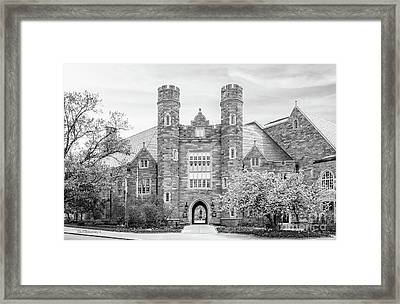 West Chester University Philips Hall Framed Print by University Icons