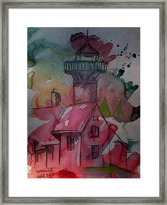 West Chop Lighthouse Framed Print