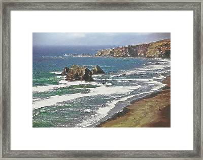 West Coast 2 Framed Print by Steve Ohlsen