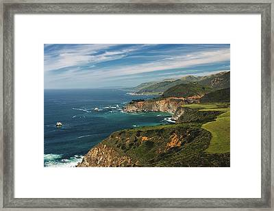 West Coast Framed Print by Aron Kearney