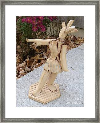 West Coast Dancer Framed Print by Christine Belt