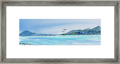 West Coast  Isle Of Pines, New Caledonia Framed Print