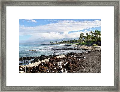 West Coast North Framed Print