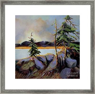West Coast Sky Framed Print by Marta Styk