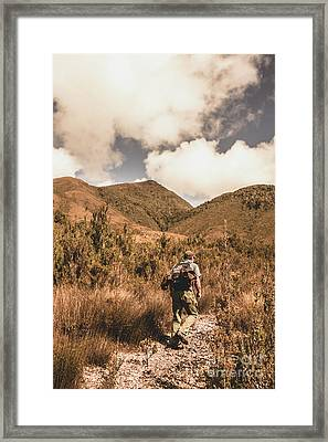 West Coast Tasmania Traveller Framed Print by Jorgo Photography - Wall Art Gallery