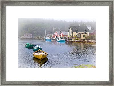 West Dover Harbour Framed Print