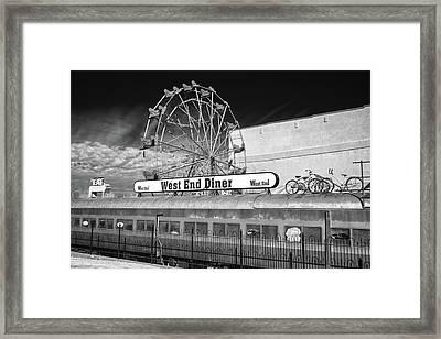West End Diner Framed Print by James Barber