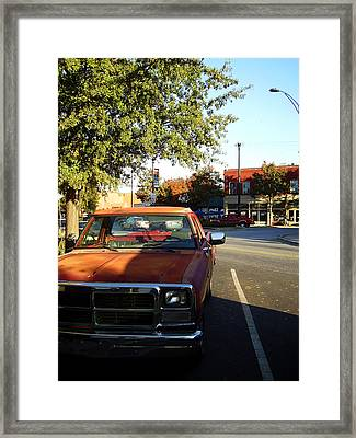 West End Framed Print