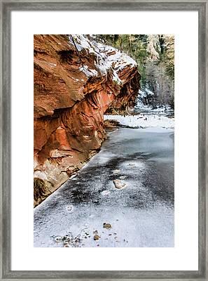 West Fork 07-009 Framed Print by Scott McAllister