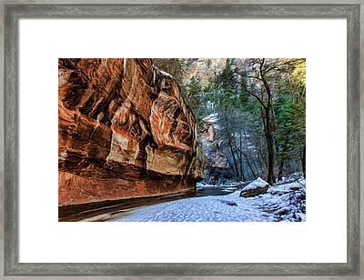 West Fork 07-024 Framed Print by Scott McAllister