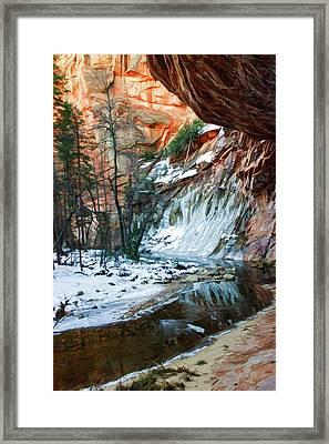West Fork 07-029 Framed Print by Scott McAllister